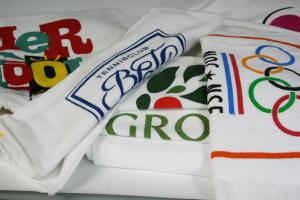 Handdoek bedrukken voorbeelden